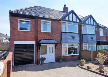 Thumbnail 4 bed semi-detached house for sale in Sholver Hill Close, Oldham