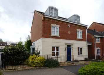 Thumbnail 4 bed detached house for sale in Eagle Way, Hampton Vale, Peterborough