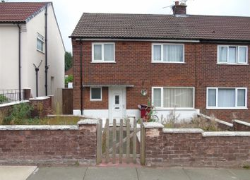 Thumbnail 3 bed semi-detached house to rent in Manor Farm Road, Huyton, Liverpool