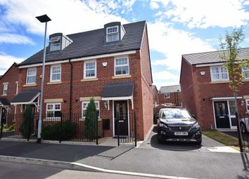 Thumbnail 3 bed town house for sale in Silver Birch Road, Manchester
