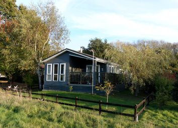 Thumbnail 2 bed mobile/park home for sale in Upper Holton, Halesworth