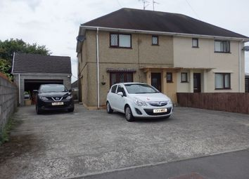 Thumbnail 3 bed semi-detached house for sale in Trallwm Road, Llanelli