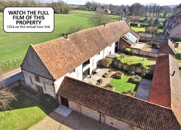 Thumbnail 5 bedroom barn conversion for sale in Burnham Road, South Creake, Fakenham