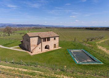 Thumbnail 5 bed farmhouse for sale in Tcr-059 La Badia, Cortona, Arezzo, Tuscany, Italy