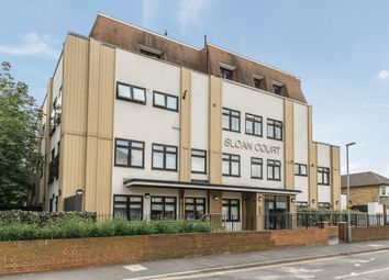 Thumbnail 1 bed flat for sale in Coombe Road, New Malden