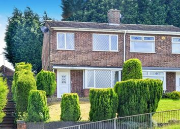 Thumbnail 3 bed semi-detached house for sale in Lynnes Close, Blidworth, Mansfield, Nottinghamshire
