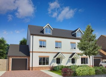 Thumbnail 4 bed semi-detached house for sale in Lake View, Railway Terrace, Kings Langley
