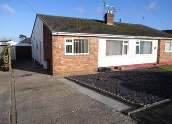 Thumbnail 2 bed semi-detached bungalow to rent in Lon Derw, Abergele