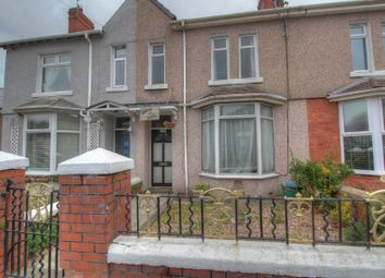 Thumbnail 4 bed terraced house for sale in Quarella Road, Bridgend