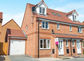 Thumbnail 4 bedroom semi-detached house for sale in Hyde Park Road, Kingswood, Hull