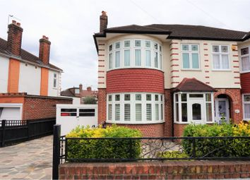 Thumbnail 3 bedroom semi-detached house for sale in Halstead Road, Winchmore Hill