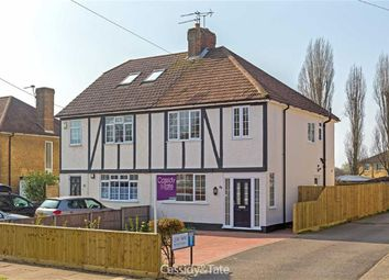 Thumbnail 3 bed semi-detached house for sale in Tavistock Avenue, St Albans, Hertfordshire