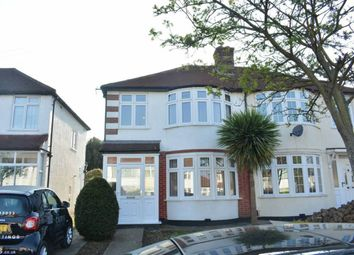 Thumbnail 3 bed property to rent in Marlow Drive, North Cheam, Sutton