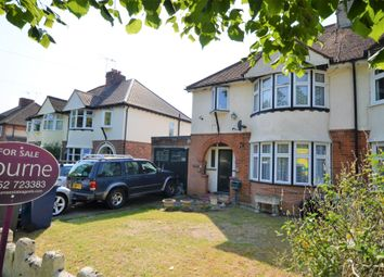 Thumbnail 3 bed semi-detached house for sale in Brook Avenue, Farnham, Surrey