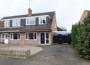 Thumbnail 3 bed property for sale in Meadow Road, Wolston, Coventry