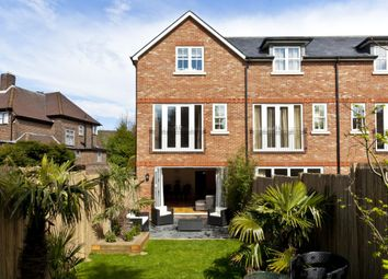 Thumbnail 4 bed town house to rent in Warren Close, Esher