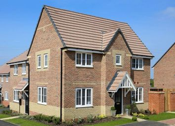 """Thumbnail 3 bedroom detached house for sale in """"Morpeth"""" at Eldon Way, Crick Industrial Estate, Crick, Northampton"""