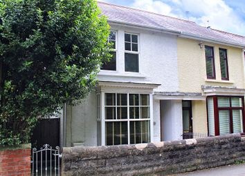 Thumbnail 2 bed semi-detached house for sale in Castle Road, Mumbles, Swansea