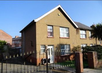 Thumbnail 3 bed end terrace house to rent in Ffordd Cynfal, Bangor