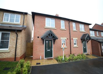 Thumbnail 2 bed semi-detached house for sale in Vesey Court, Wellington, Telford