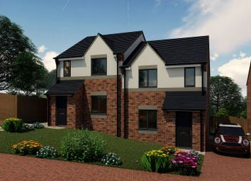 Thumbnail 3 bedroom semi-detached house for sale in The Rear Of 239 Sandy Lane, Worksop, Nottinghamshire