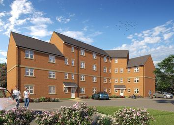 "Thumbnail 2 bed flat for sale in ""The Corby"" at Derwen View, Brackla, Bridgend"