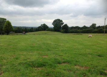 Thumbnail Land for sale in Bosley, Macclesfield