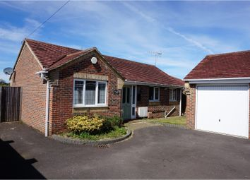 Thumbnail 3 bed detached bungalow for sale in London Road, Horndean