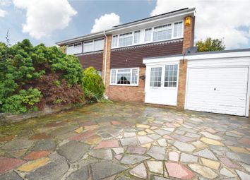 Thumbnail 3 bed semi-detached house for sale in Charnock, Swanley, Kent