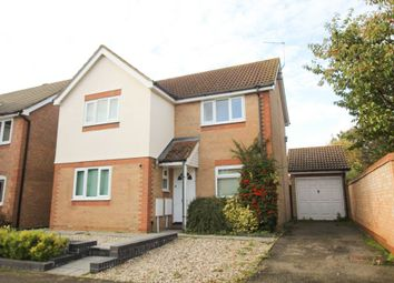 Thumbnail 3 bed detached house for sale in Leicester Close, Ely