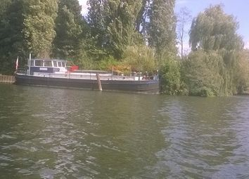 Thumbnail 2 bed houseboat for sale in Platts Eyot, Lower Sunbury Rd, Hampton, London