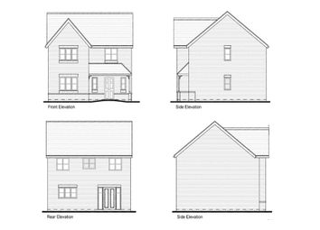 Thumbnail 4 bedroom detached house for sale in Clacton Road, Elmstead, Colchester