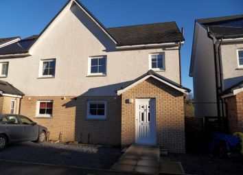 Thumbnail 3 bed semi-detached house for sale in Creemills Walk, Newton Stewart
