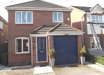 Thumbnail 3 bed detached house for sale in Fairoak Close, Winsford