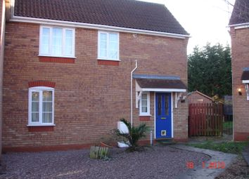 Thumbnail 2 bed semi-detached house to rent in Dove Close, Sleaford
