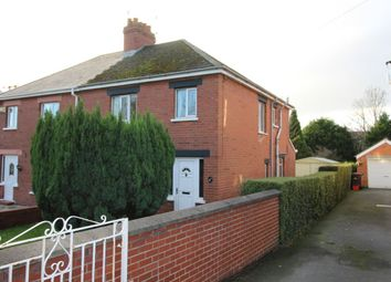 Thumbnail 3 bed semi-detached house for sale in North Road, Carrickfergus