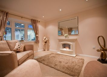 Thumbnail 1 bed mobile/park home for sale in Rose In The Bush Residential Park, Helston, Cornwall