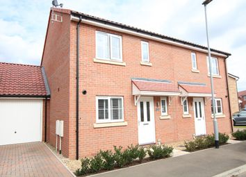Thumbnail 3 bed semi-detached house for sale in Limestone Close, Great Blakenham, Ipswich, Suffolk