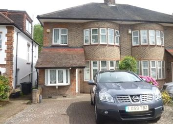 Thumbnail 3 bed semi-detached house to rent in Walmington Fold, Woodside Park, Finchley