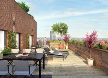 Thumbnail 1 bed flat for sale in Springwell Gardens, Whitehall Road, Leeds