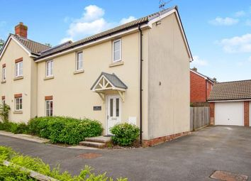 Thumbnail 3 bed semi-detached house for sale in Cromwell Close, Newtown, Berkeley, Gloucestershire
