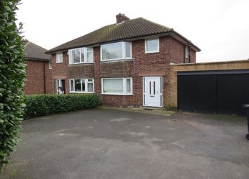 Thumbnail 4 bedroom semi-detached house for sale in Asfordby Road, Melton Mowbray