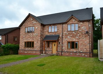 Thumbnail 4 bed detached house to rent in Christ Church Copse, Christ Church Lane, Market Drayton