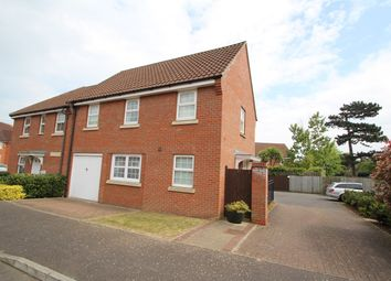 Thumbnail 3 bed end terrace house for sale in Salmet Close, Ipswich