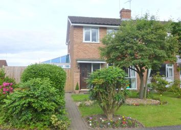 Thumbnail 3 bed semi-detached house to rent in The Spinney, Yateley, Hampshire