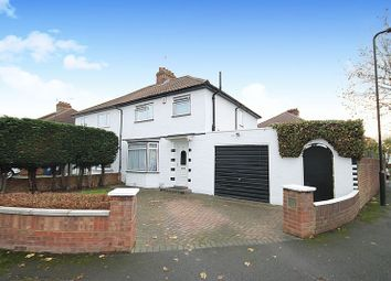 Thumbnail 3 bed semi-detached house for sale in Costons Avenue, Greenford
