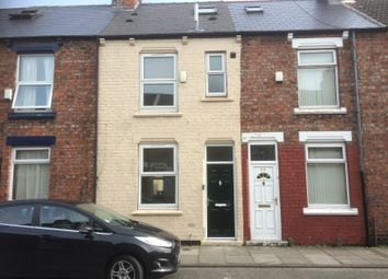 Thumbnail 4 bed terraced house to rent in Albany Street, Middlesbrough