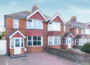 Thumbnail 3 bedroom semi-detached house for sale in Astaire Avenue, Eastbourne