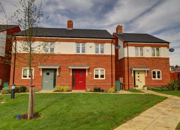 Thumbnail 2 bed semi-detached house for sale in Choyce Close, Hugglescote, Coalville