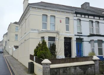 Thumbnail 4 bedroom end terrace house for sale in Alexandra Road, Mutley, Plymouth